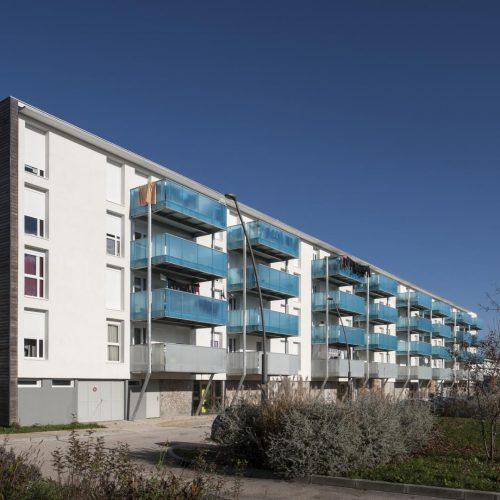 Clou bouchet r habilitation de 78 logements habitat for Architecte deux sevres